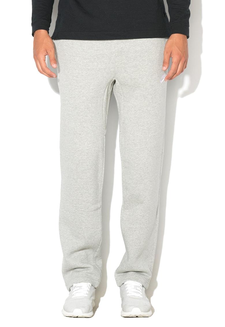 Pantaloni sport regular fit cu captuseala de fleece si snur pentru ajustare Nike
