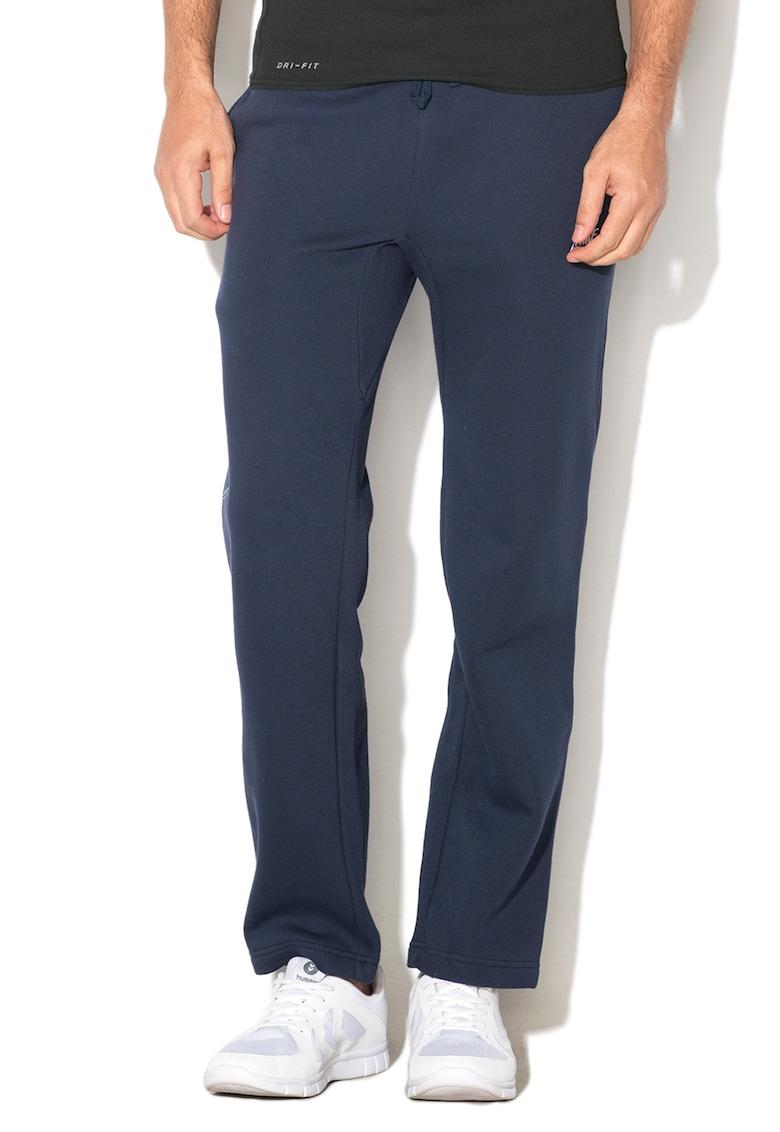 Pantaloni sport regular fit cu captuseala de fleece si snur pentru ajustare de la Nike