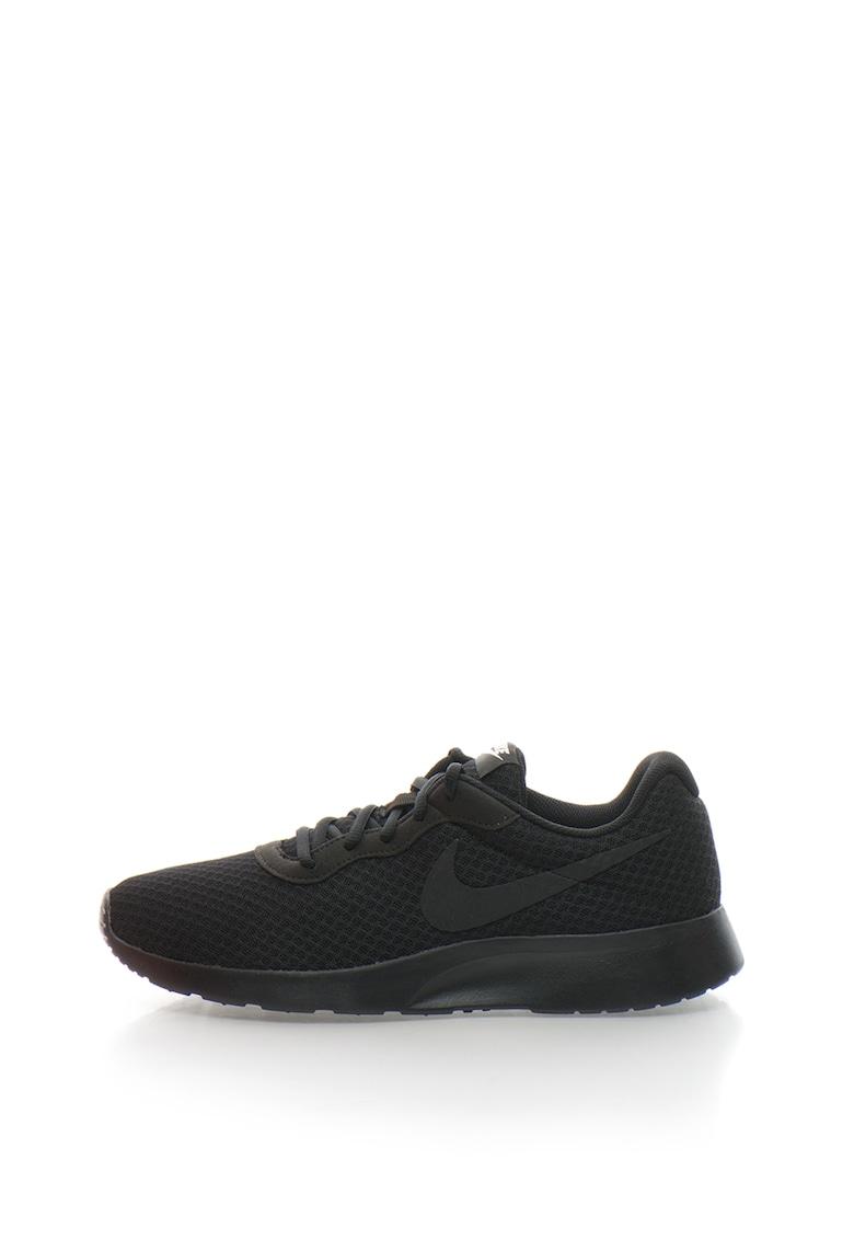 Pantofi sport unisex - cu insertii de plasa Tanjun black/white imagine