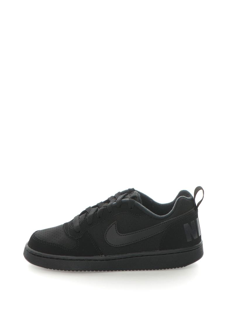 Pantofi sport cu insertii de piele Court Borough Nike