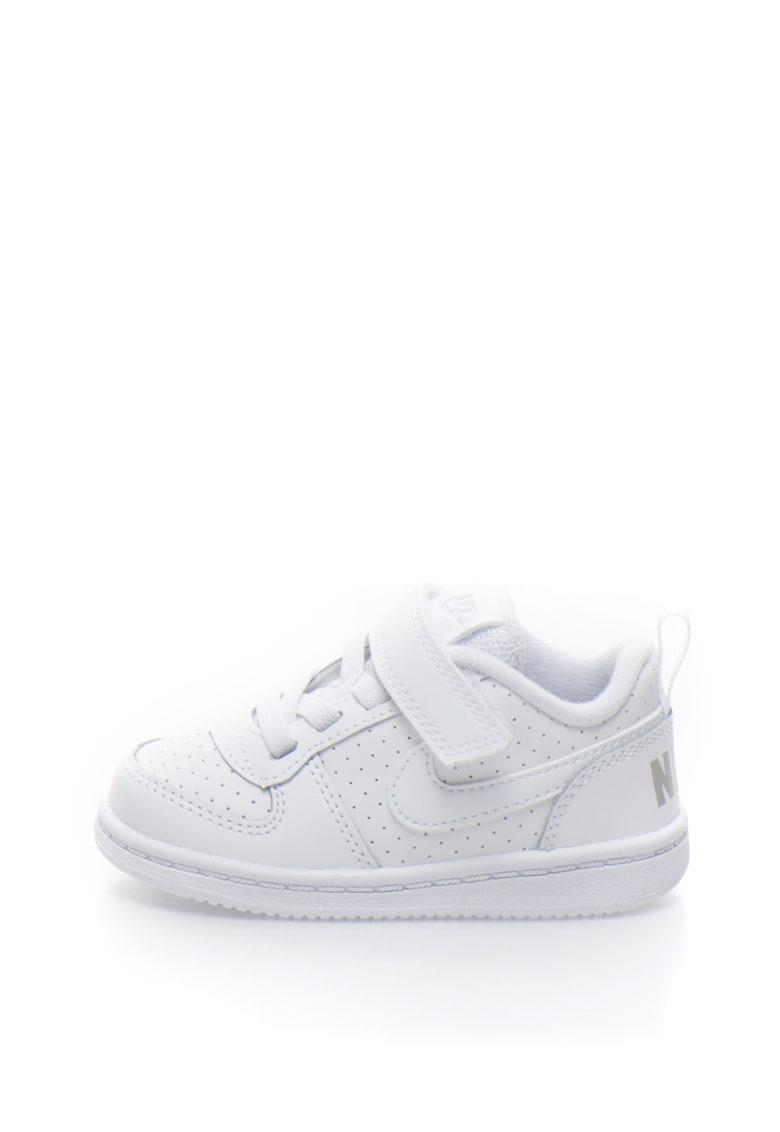 Pantofi sport cu garnituri de piele Court Borough