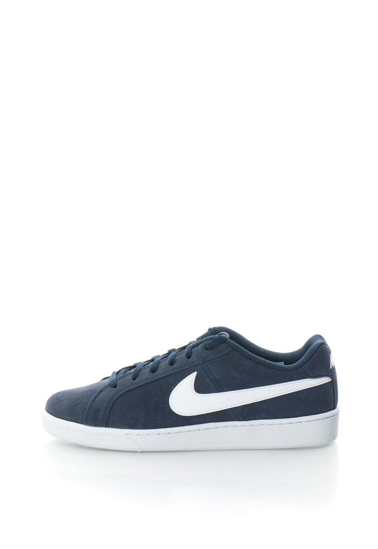 Pantofi sport de piele intoarsa Court Royale