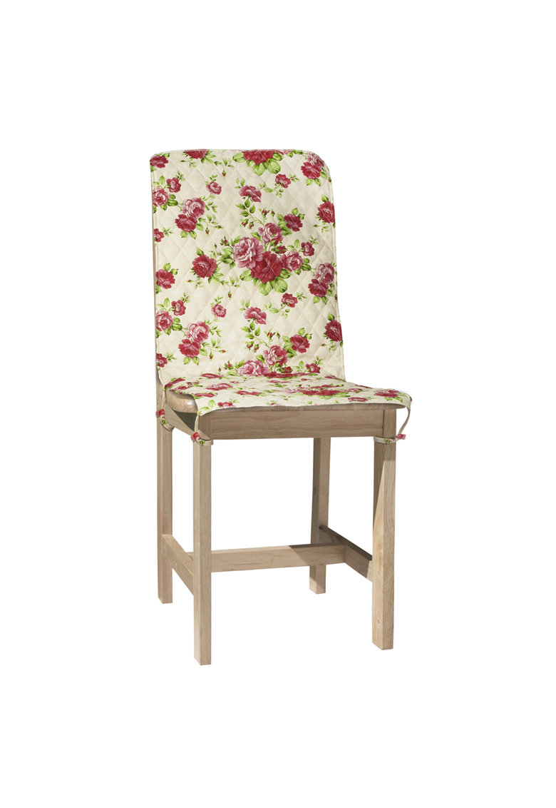Heinner Home Husa spatar scaun  47×100 cm – bumbac – Model flori Roz