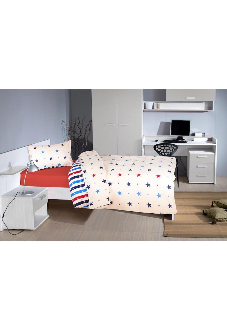 Lenjerie de pat cu modele diverse - 2 piese - Multicolor thumbnail