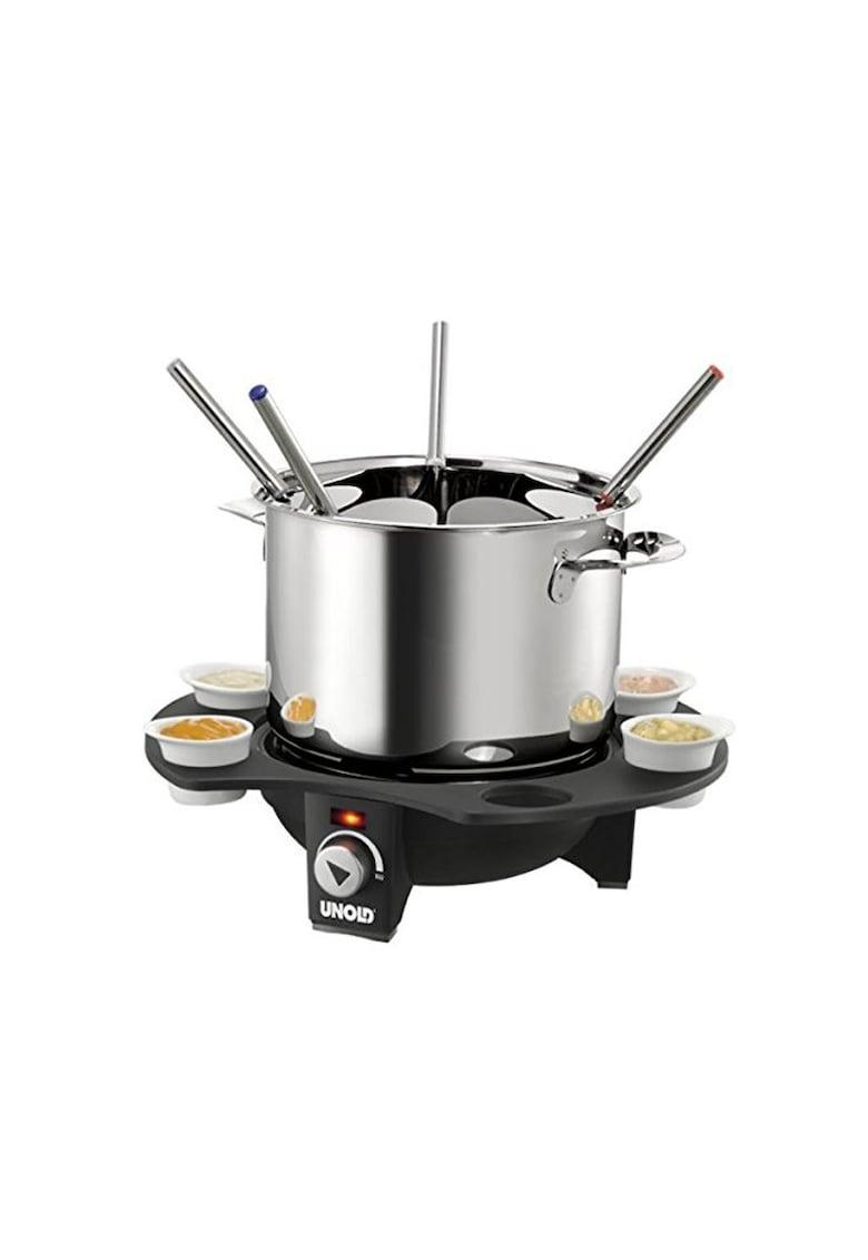 Set fondue electric 1000W - Inox/Negru imagine fashiondays.ro 2021