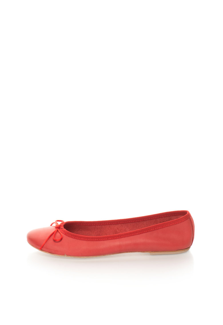 Zee Lane Balerini rosii de piele