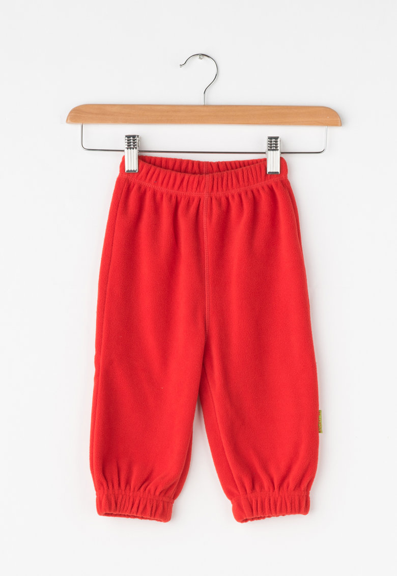 Pantaloni rosii de fleece