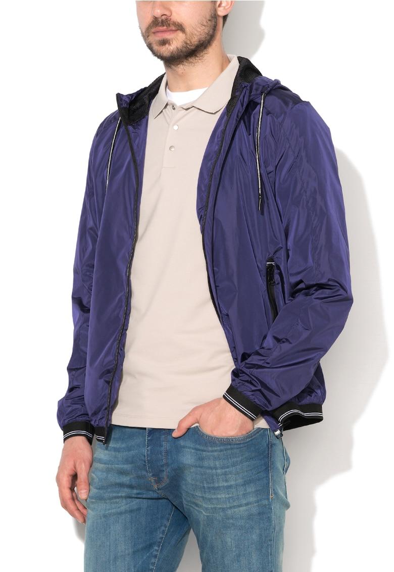 Jacheta usoara violet inchis Zee Lane Denim