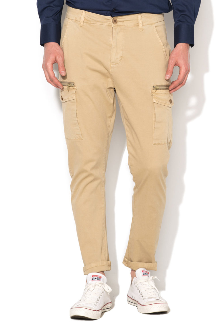 Zee Lane Denim Pantaloni cargo bej