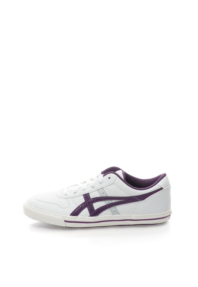 Onitsuka Tiger Tenisi alb cu violet Aaron GS