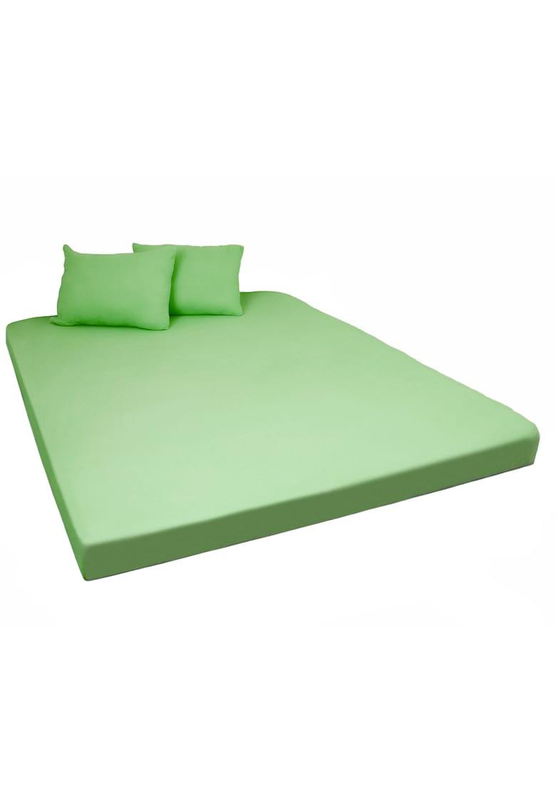 Husa de pat 160x200 cm + 2 fete de perna Home Still - 50x70 cm Jersey - bumbac imagine fashiondays.ro 2021
