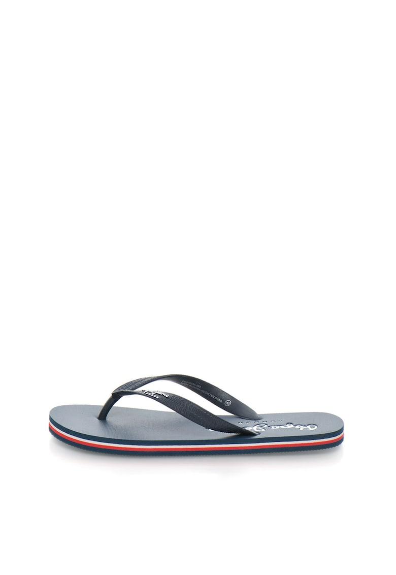 Papuci flip-flop bleumarin Swimming