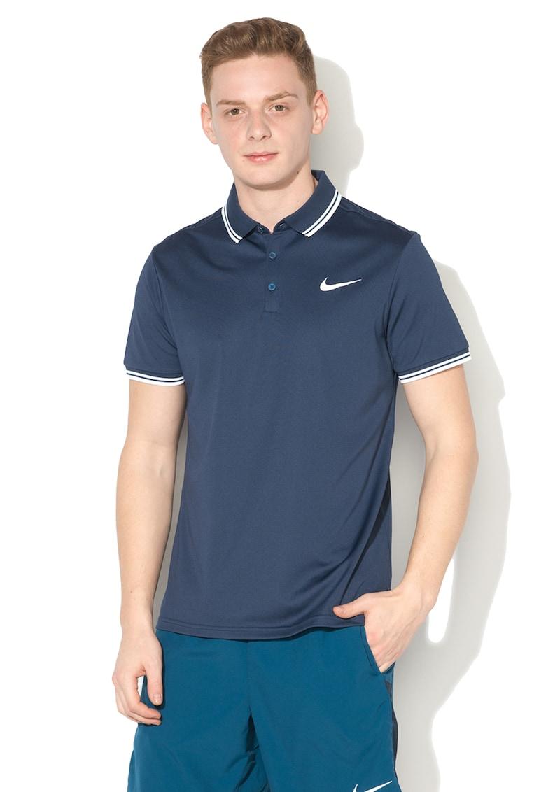 Nike Tricou polo cu slituri laterale – pentru tenis – Dry