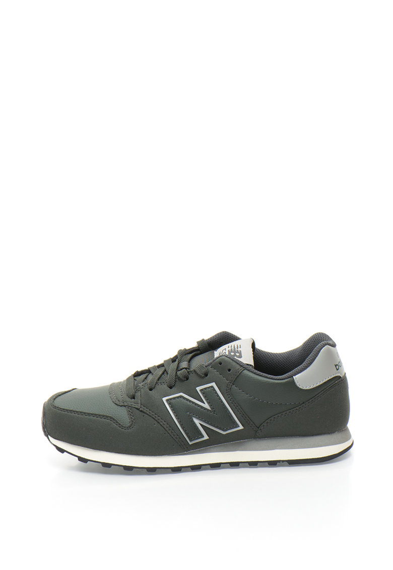 New Balance Pantofi sport cu aplicatie logo 500