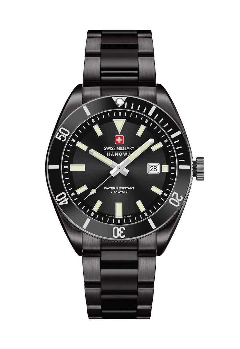 Ceas negru Skipper imagine fashiondays.ro 2021