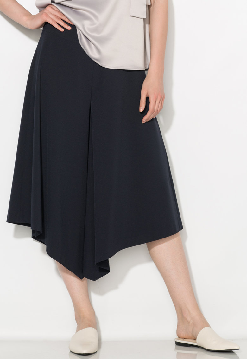 Zee Lane Collection Fusta-pantalon beumarin inchis asimetrica