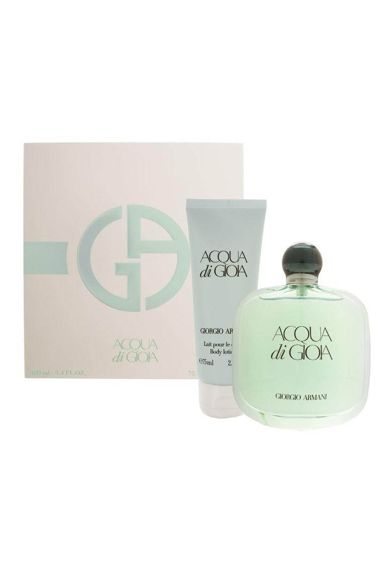 Set Acqua di Gioia: Apa de Parfum - 100ml + Lotiune de corp - 75ml - Femei imagine promotie