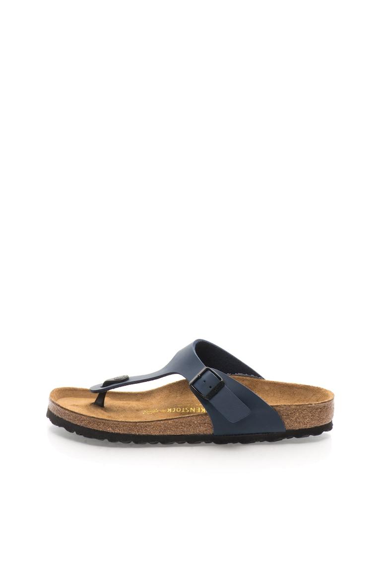 Papuci flip-flop bleumarin Gizeh de la Birkenstock