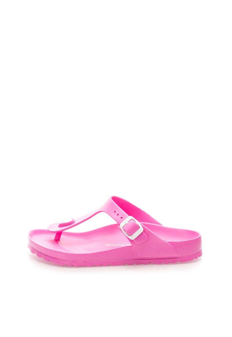 Papuci flip-flop roz bombon Gizeh