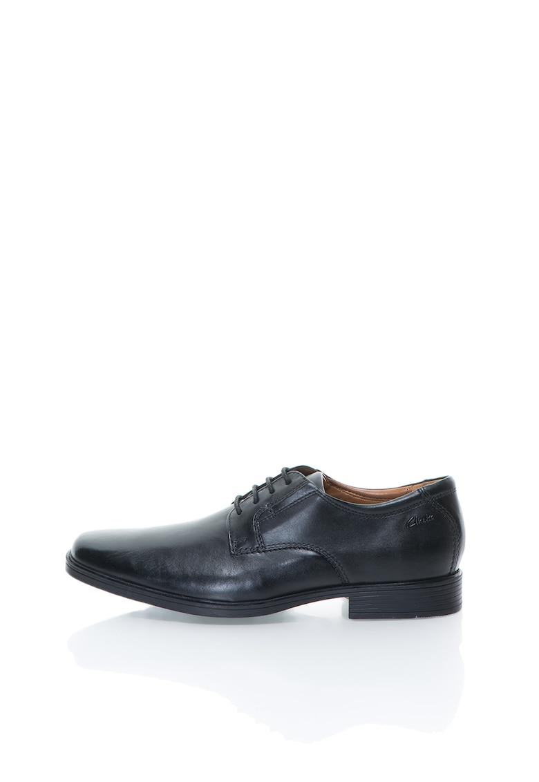 Pantofi negri din piele Tilden