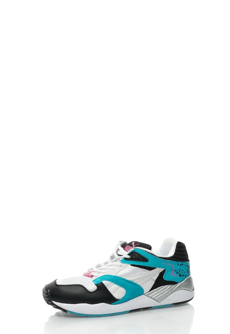 Pantofi sport alb cu albastru Trinomic XS 850 PLUS