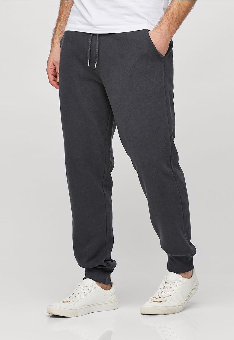 Pantaloni sport cu doua buzunare oblice