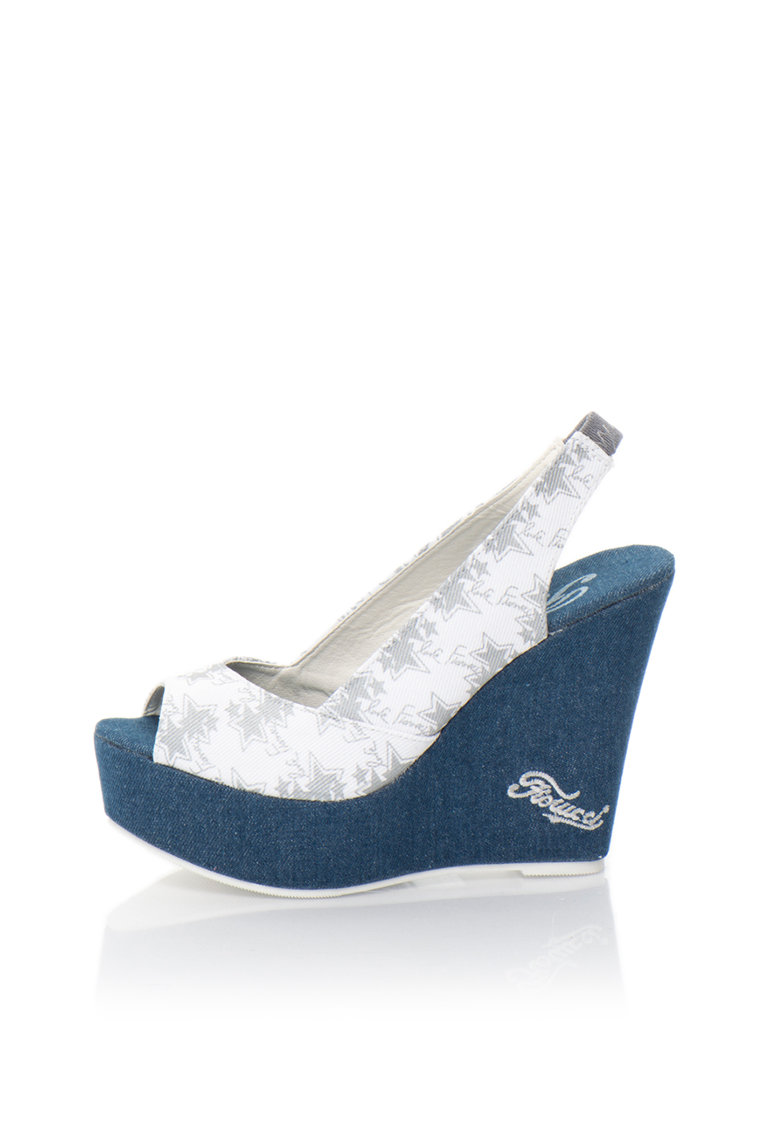Sandale wedge Fiorucci fashiondays.ro