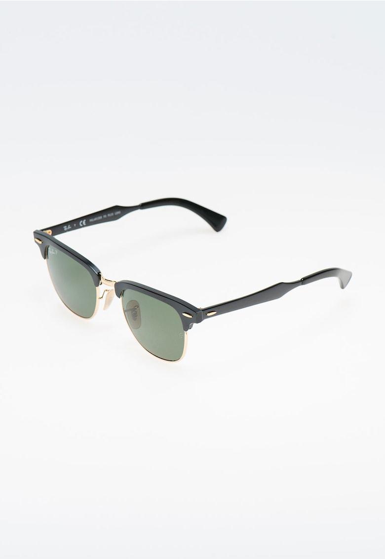 Ochelari de soare negru cu auriu si lentile polarizate imagine fashiondays.ro Ray-Ban