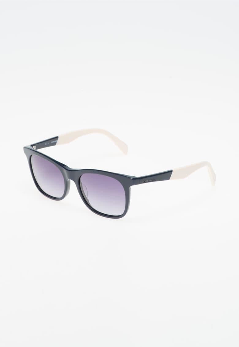 Ochelari de soare bleumarin cu alb fildes imagine fashiondays.ro Diesel