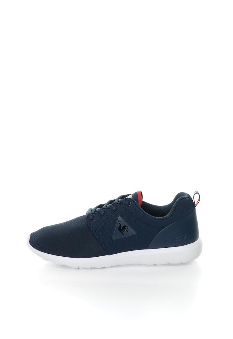 Pantofi sport bleumarin de plasa cu insertii de piele Dynacomf imagine fashiondays.ro 2021