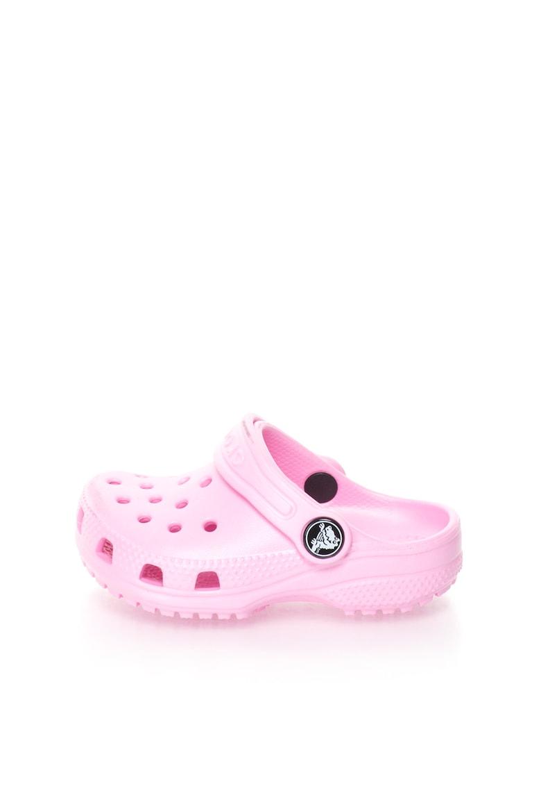 Sandale slingback roz deschis Classic