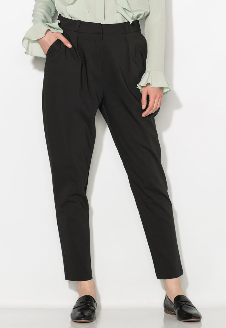 Zee Lane Collection Pantaloni conici negri