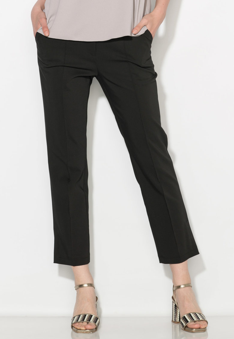 Zee Lane Collection Pantaloni crop negri
