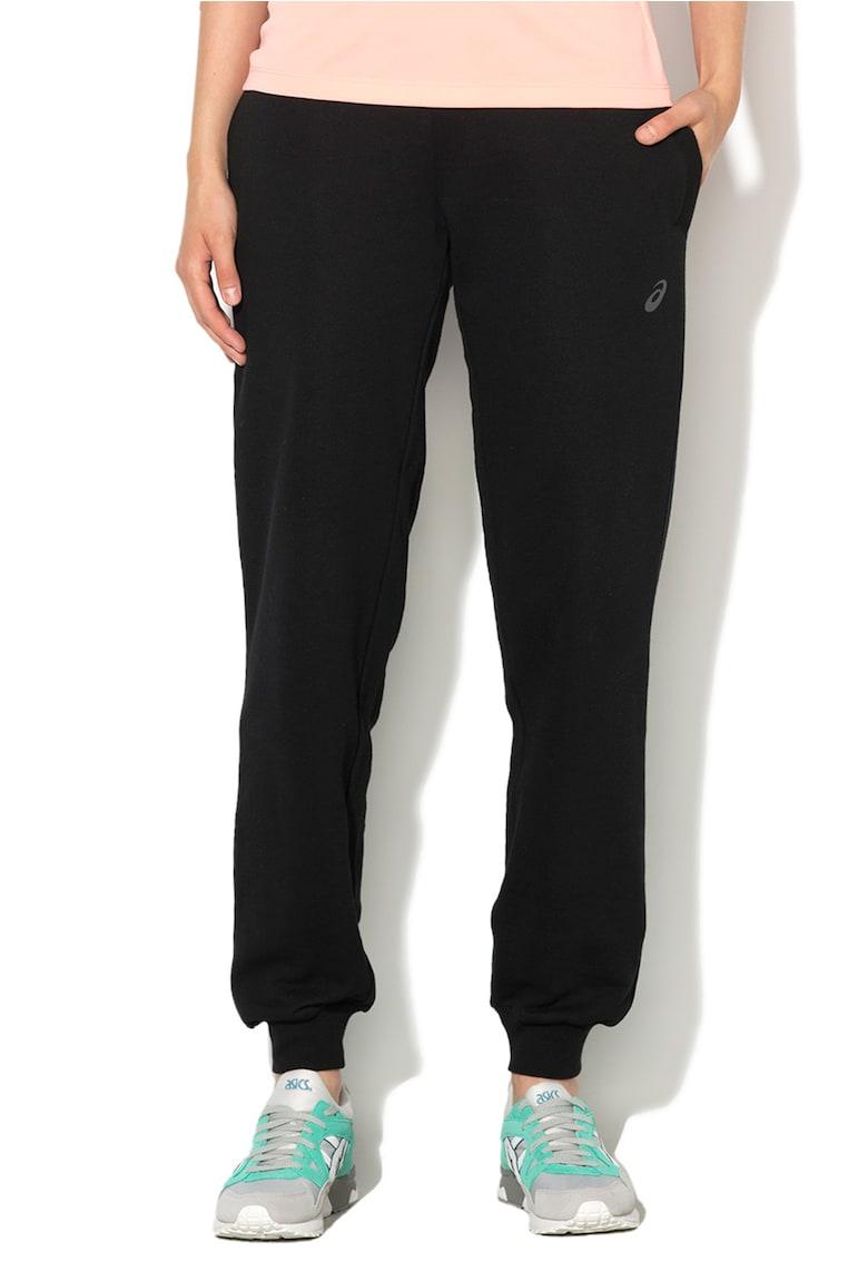 Pantaloni negri pentru jogging