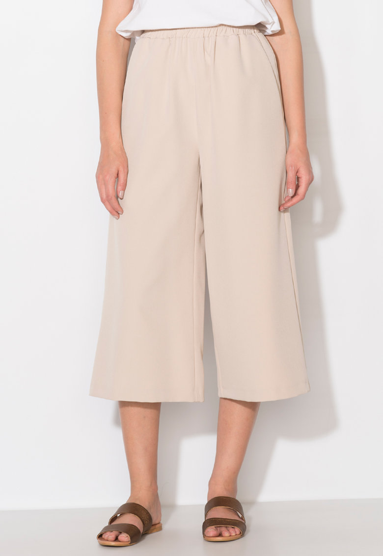 Zee Lane Collection Pantaloni culotte bej