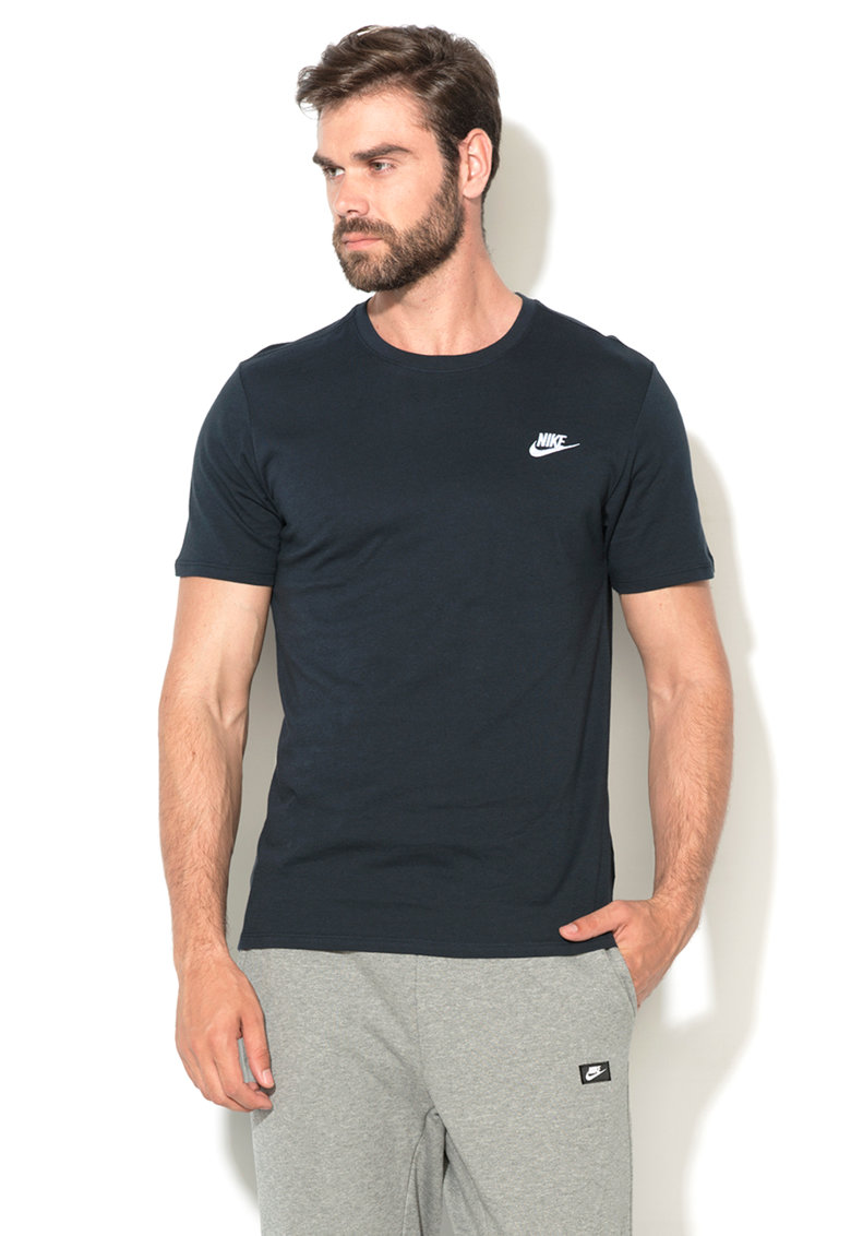 Tricou bleumarin inchis Nike