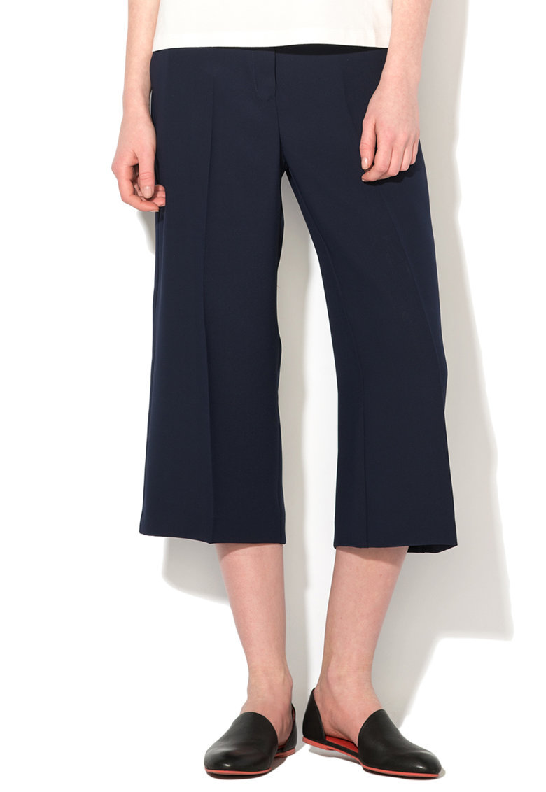 Pantaloni culotte bleumarin Lanciare