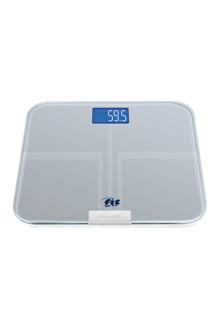 Cantar persoane Web Connect Analysis - LCD - 150Kg - sticla
