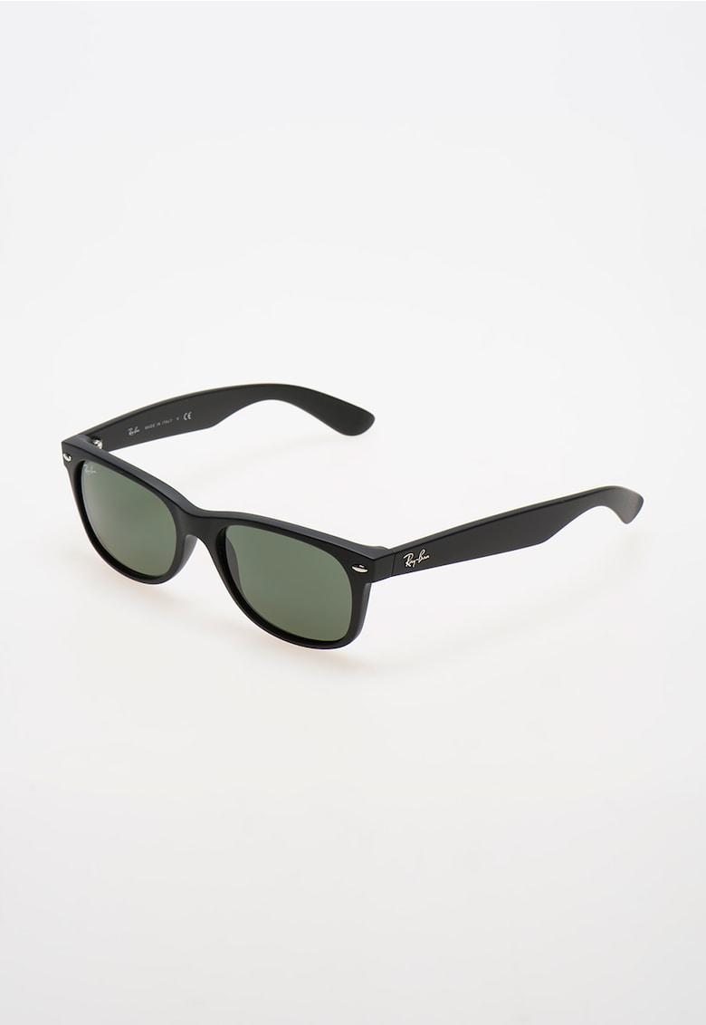 Ochelari de soare negru mat New Wayfarer imagine fashiondays.ro Ray-Ban