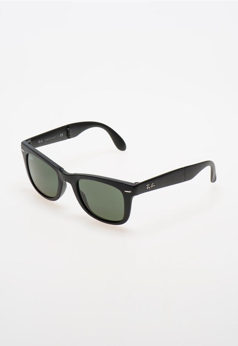 Ochelari de soare negru mat pliabili Wayfarer® imagine