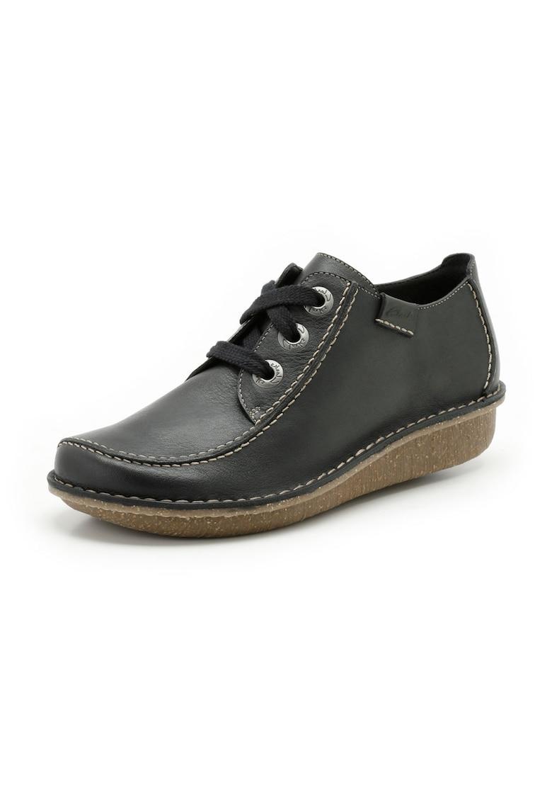 Pantofi bleumarin din piele Funny Dream imagine
