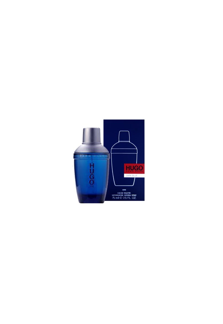 Apa de Toaleta Hugo Dark Blue - Barbati - 75ml imagine