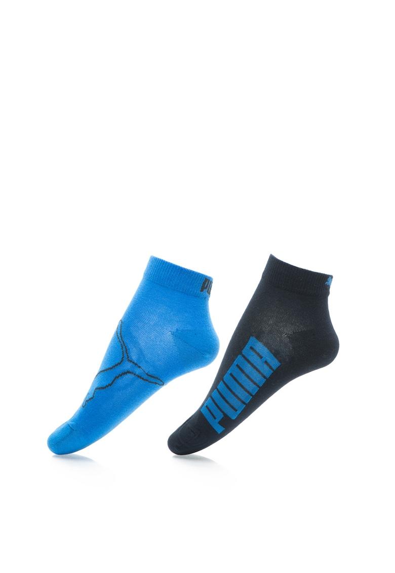 Puma Set de sosete albastru cu bleumarin – 2 perechi