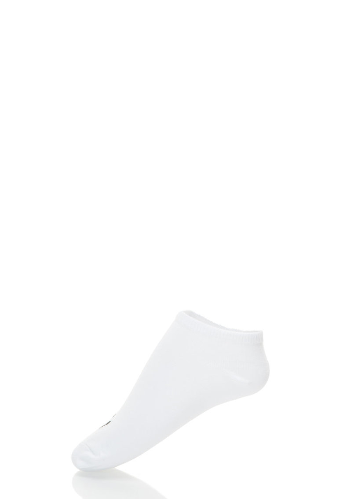 Adidas ORIGINALS Set de sosete scurte albe – 3 perechi