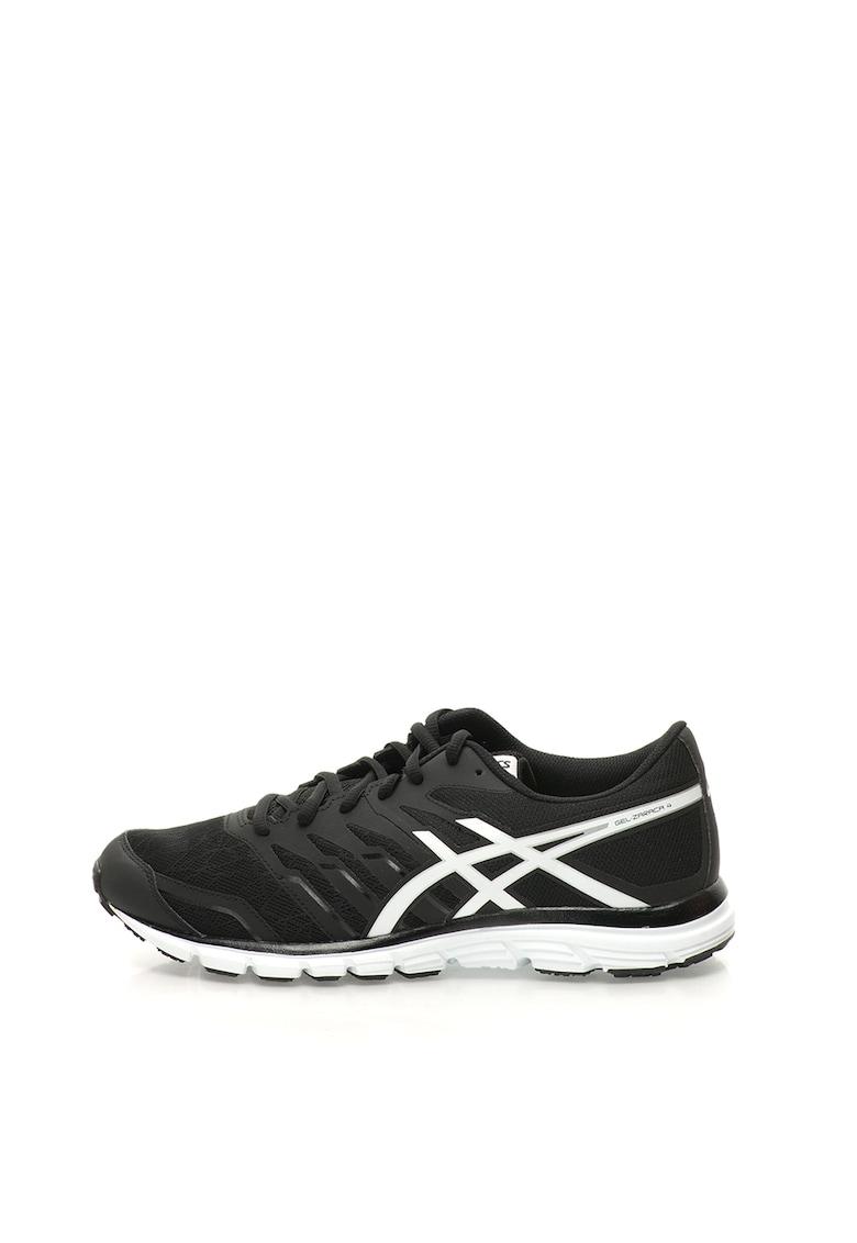 Pantofi sport negri cu garnituri albe Gel Zaraca 4