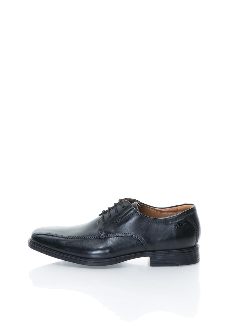 Pantofi de piele Tilden-Walk TILDEN-WALK de la Clarks