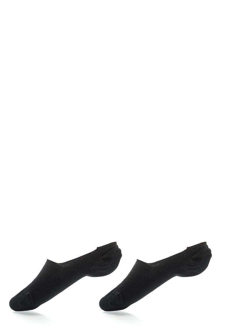 Set de sosete foarte scurte negre – 2 perechi de la Puma