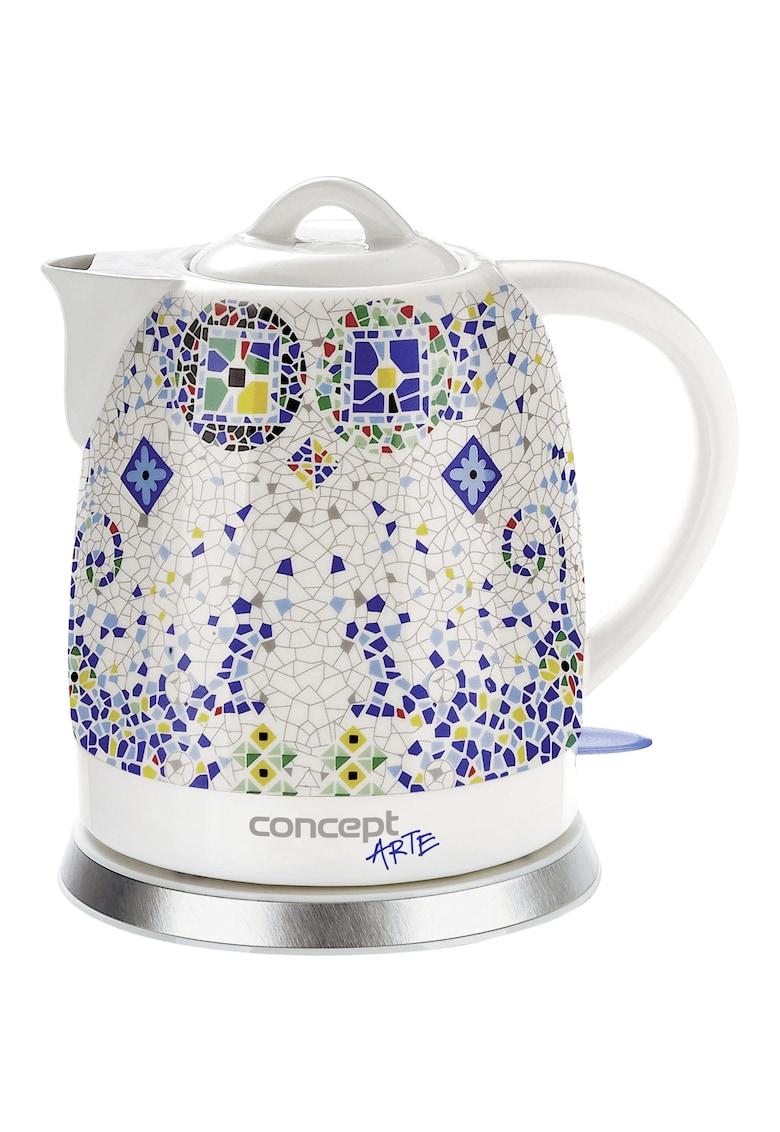 Fierbator Ceramica -1350W - 1.5 l - Ceramic - Mozaic imagine fashiondays.ro 2021