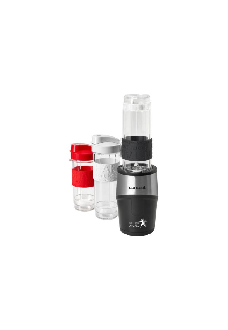 Mini Blender SM-338x - 500 W - - 23000 rpm - Smoothie - 2 recipiente 570 ml - 1 recipient 400 ml - fara BPA imagine fashiondays.ro 2021