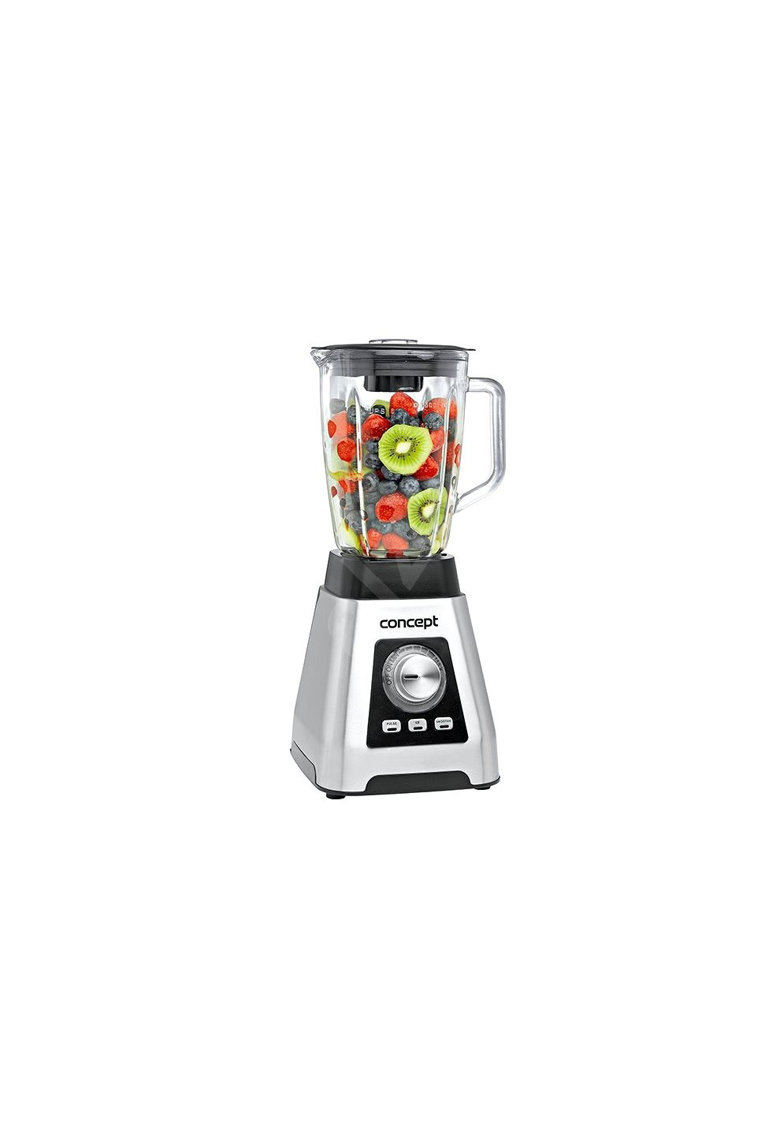 Blender SM-3410 - 1000 W - Vas Sticla 1 -5l - 16 Viteze - Ice crush - Smoothie - 22000 rpm - functie impuls - Gri
